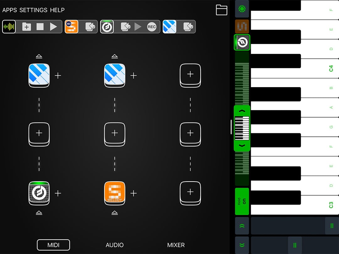 Midiflow Keyboard – Perform with multiple sounds simultaneously