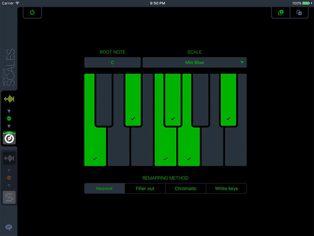 Midiflow Scales – Remap notes to a scale or filter out wrong tones